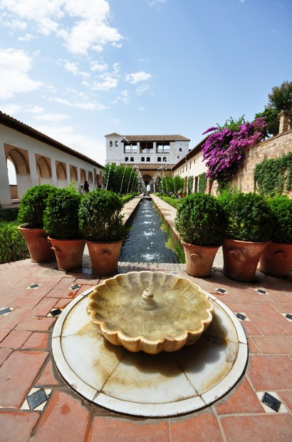 Alhambra - Palacio del Generalife, Granda, Spain