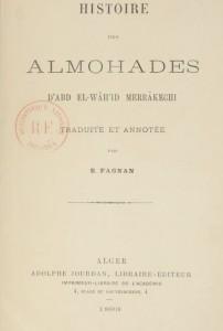 Histoire des Almohades