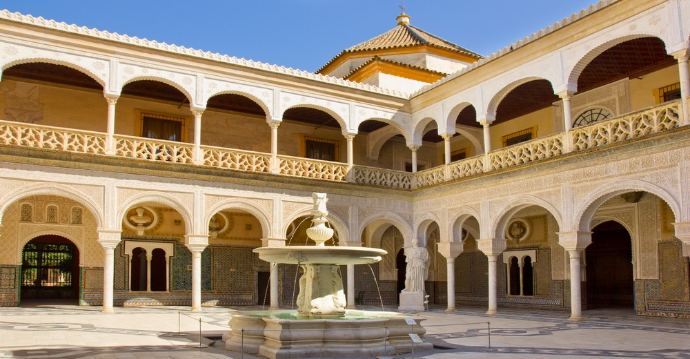 Casa de Pilatos, Seville, Andalusia, Spain